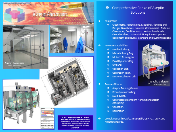 products and services provided for contamination control